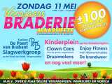 11 mei: grote braderie